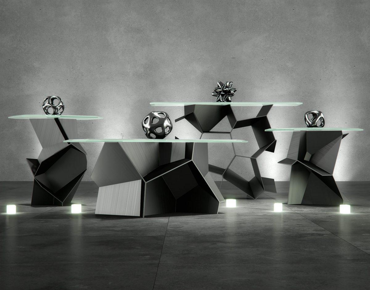 Voronoi Table 3D Models RenderNode