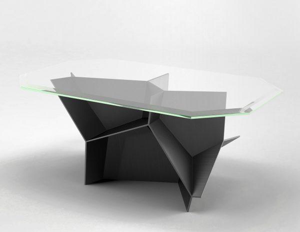 Voronoi Cocktail Table 3D Model RenderNode