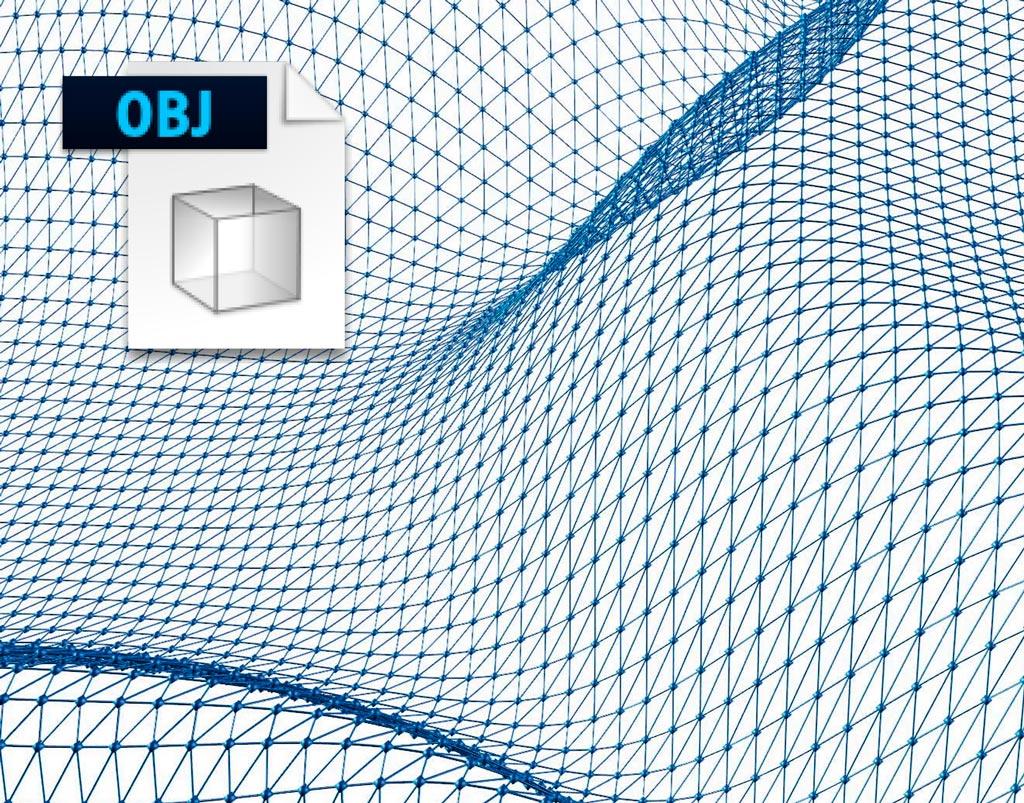 Wavefront OBJ Format Rendernode