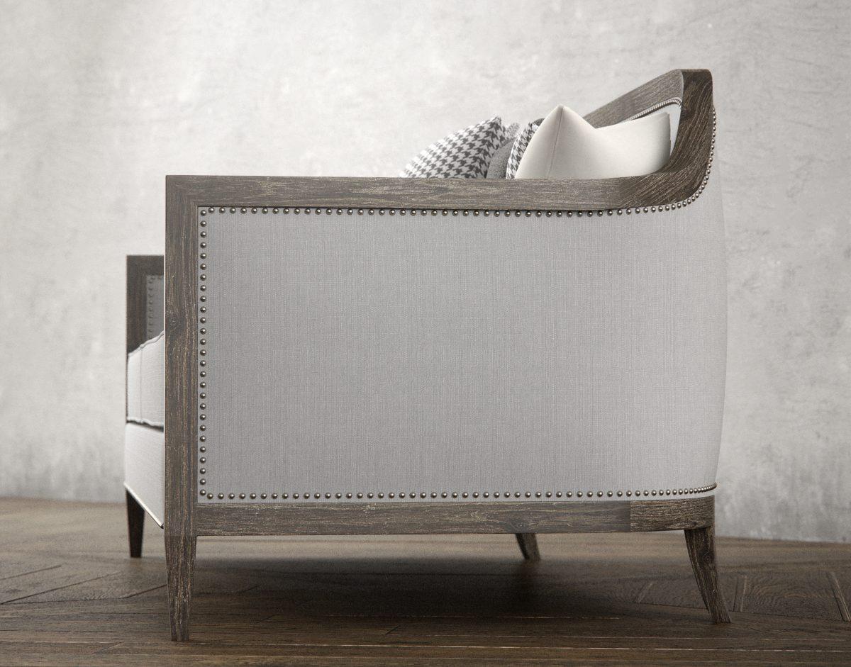 Mollis Sofa 3D Model Rendering RenderNode