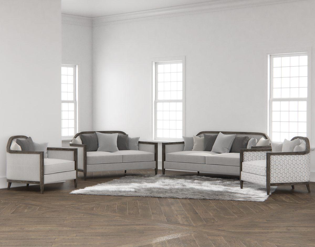 Mollis Upholstered 3D Models Collection RenderNode