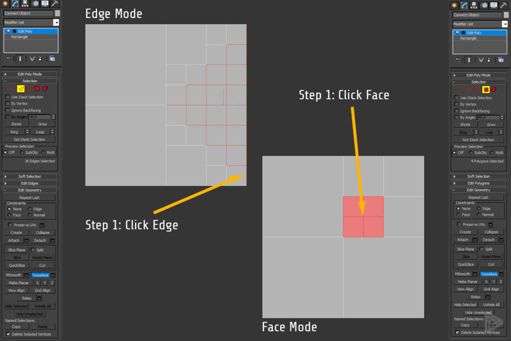 Tesselate add vertex in 3DS Max rendernode
