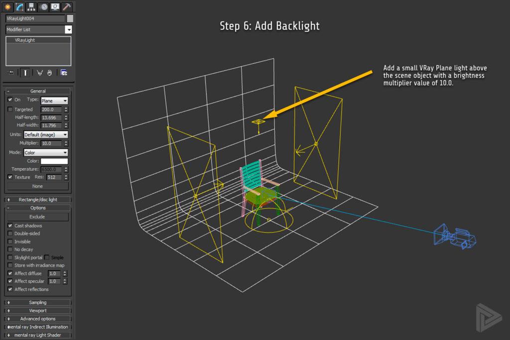 Studio Lighting Setup in 3DS Max + Vray | Rendernode