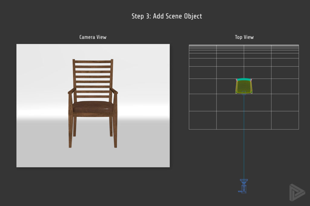 3DS Max Studio Setup with Scene Object Added Rendernode